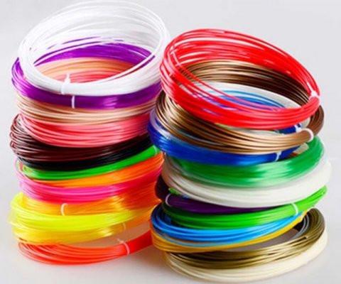 3D Print Filament PLA. 20 ruller af 10 meter