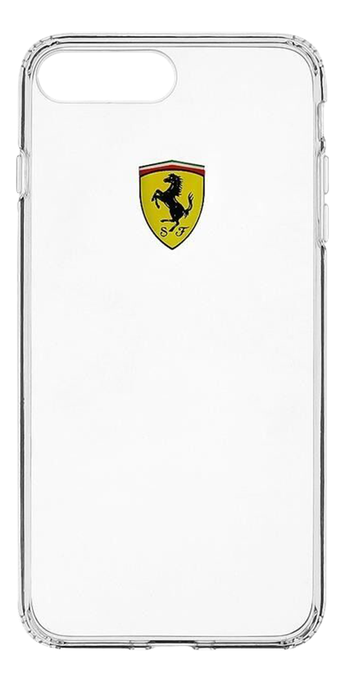 Ferrari Scuderia Racing Shield, transparent TPU case for Apple iPhone 7/8