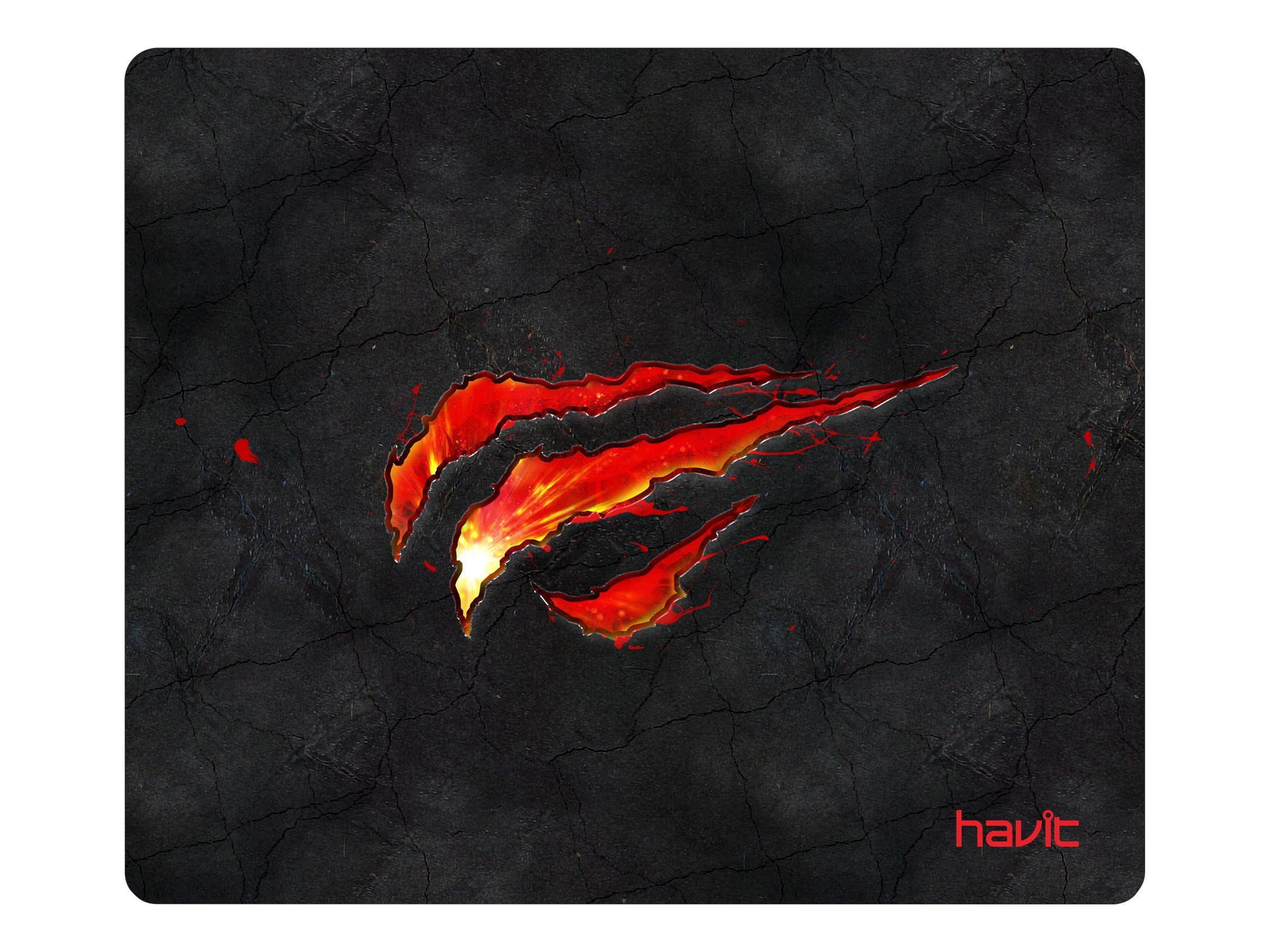 Havit Gaming Mousepad Black/Red