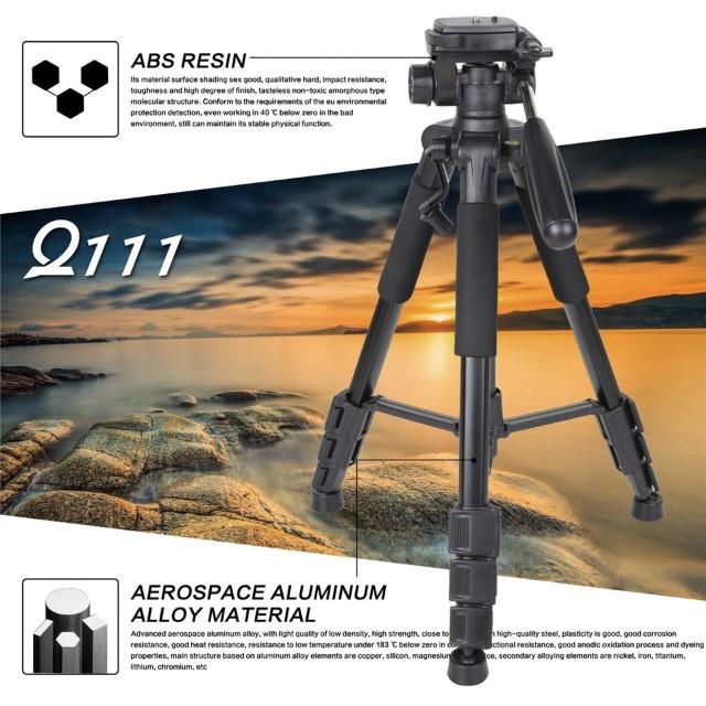 Pro Kamerastativ i aluminium.