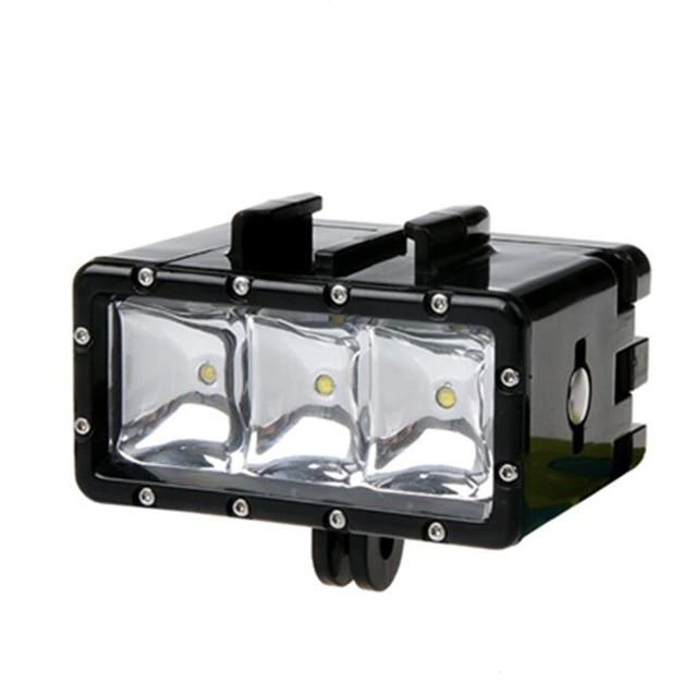 GoPro LED undervandslampe.