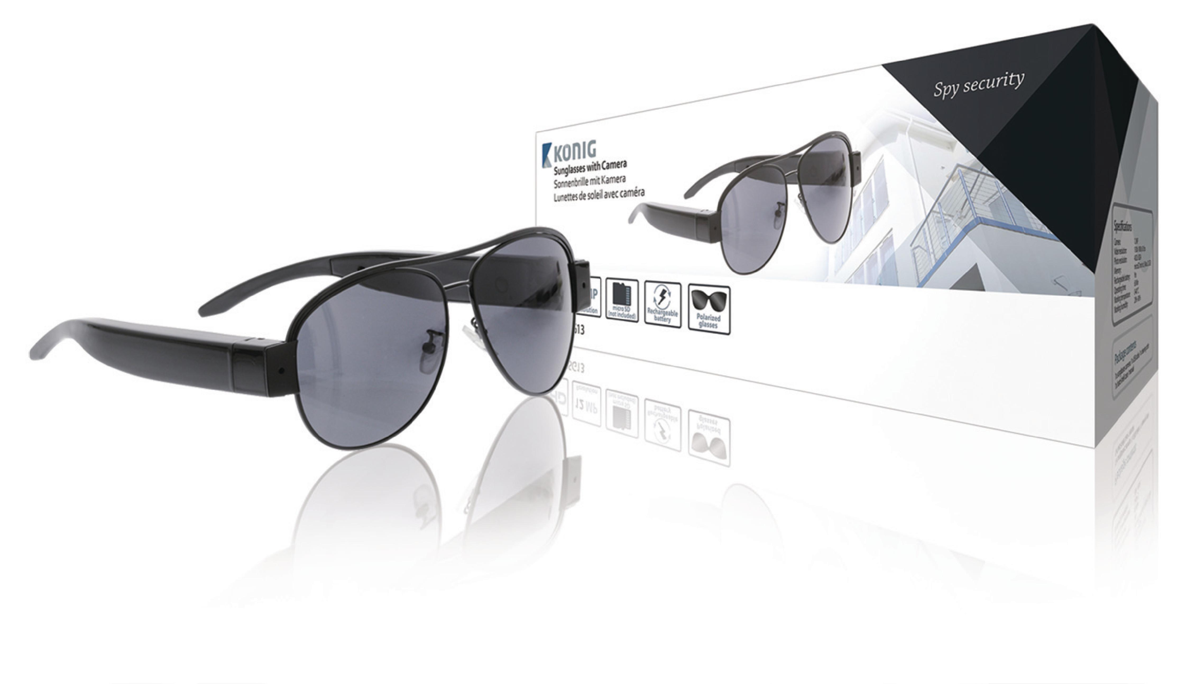 Solbriller Skjult Kamera