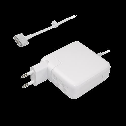 45W Strømadapter til Macbook Air, MagSafe 2, hvid