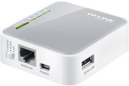 TP-LINK trådløs 3G-router, 802.11n, 150Mbps, USB, RJ45