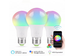 WIFI smart bulb 6,5W (ca 60w effekt)
