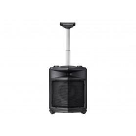 Højttaler - til transportabel brug - trådløs - Bluetooth - 2-vejs - sort