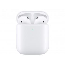 Apple AirPods Wireless Charging Case Trådløs Hvid Ægte trådløse øretelefoner