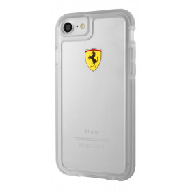 Ferrari On Track Transparent Collection, transparent case for Apple iPhone 7/8