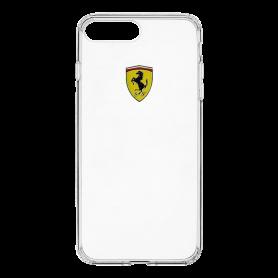 Ferrari Scuderia Racing Shield, transparent TPU case for Apple iPhone 7/8