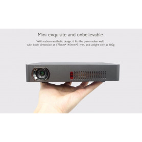 Luksus Pico Smart projektor inkl android. Den bedste af de mindste 1800 lumens.