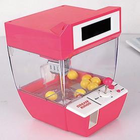 Slikautomat med sjov kran. Lyserød
