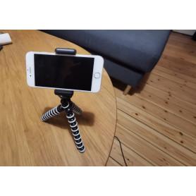 Tripod smartphone-mobiltelefon holder.