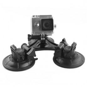 GoPro kraftfuld tripel sugekop.