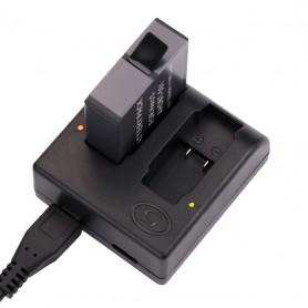 USB dobbelt lader til GoPro hero 5 batterier