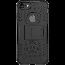 Dazzler Cover til iPhone 7/8, stødabsorberende, udskæringer til varme, sort
