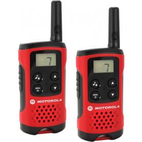Walkie Talkie Motorola TLKR T40 Com-radio, 8 kanaler, op til 4km