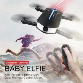 JJRC Baby Elfie foldbar drone med live FPV kamera og G-sensor remote control.