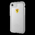 Ferrari On Track Transparent Collection, transparent case for Apple iPhone 7/8