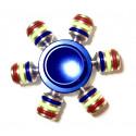 Fidget Spinner six arm metal.