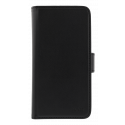 DELTACO Wallet Case 2-in-1, PU leather wallet case with magnetic cover for iPhone 6/6S/7/8, black