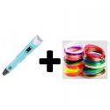 3D pen inklusiv 20*10 meter PLA filament.