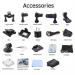 """A12 Action Kamera med 2"""" display og Sony sensor Ultra HD & WIFI"""