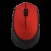 DELTACO trådløs optisk mus 2,4 GHz rød.